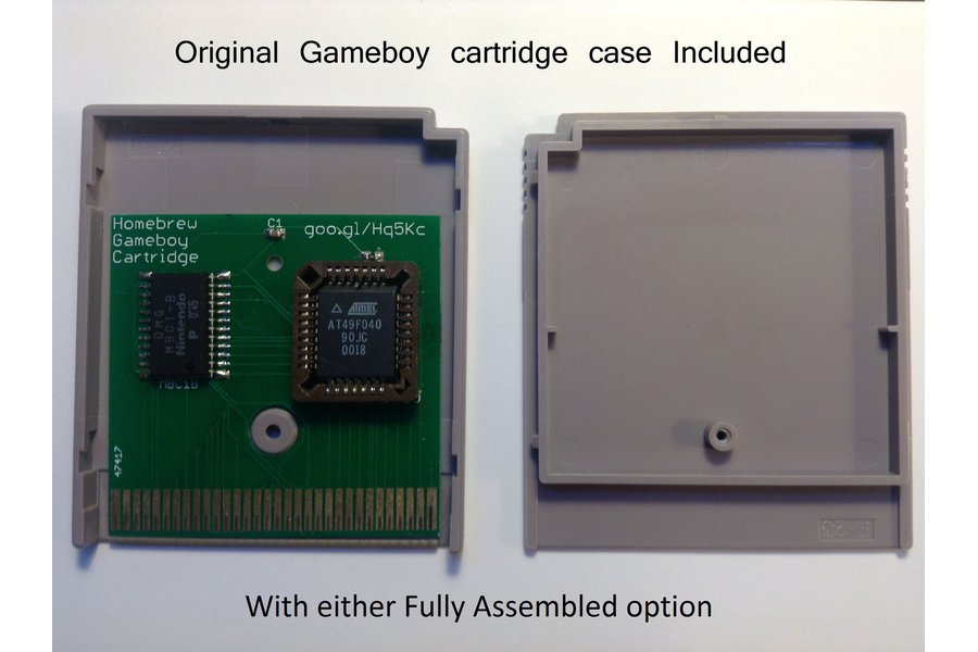 Homebrew Gameboy Cartridge