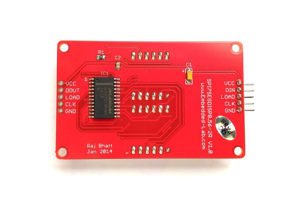 Double row 4-digit seven segment LED display-RED 3