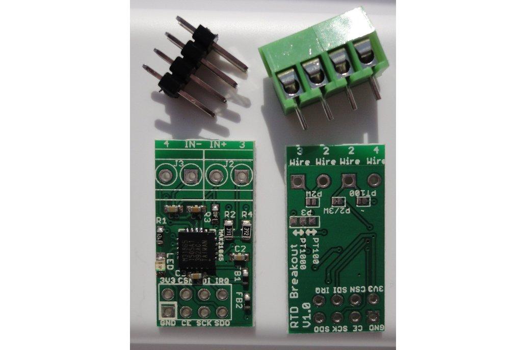MAX31865 RTD temperature sensor breakout board 2