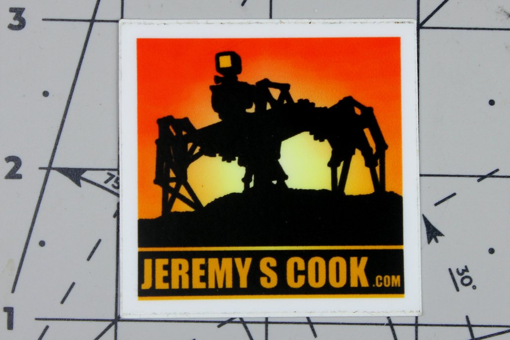 Jeremy S. Cook Stickers! 1