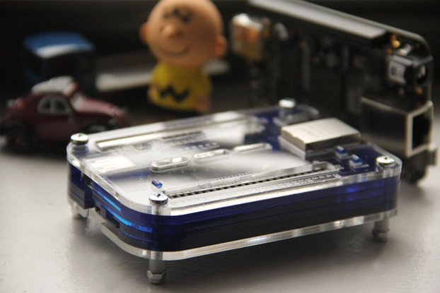 """The Blue Max"" Beaglebone Case w/ Pin Reference"