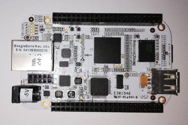 BeagleBone White + Protoboard