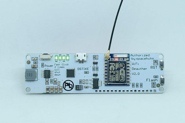 WiFi deauther V2.0 (Preflashed pocket8266 V2.0)