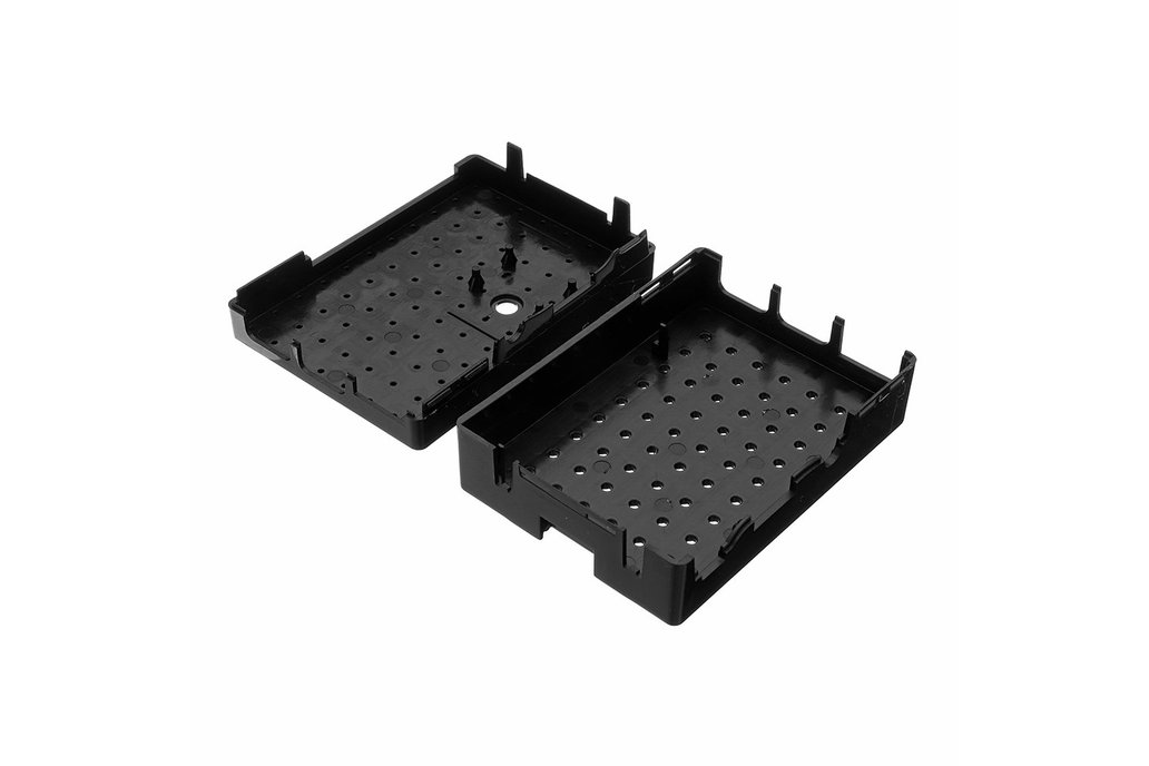 Black ABS Enclosure Box For Raspberry Pi 3 6