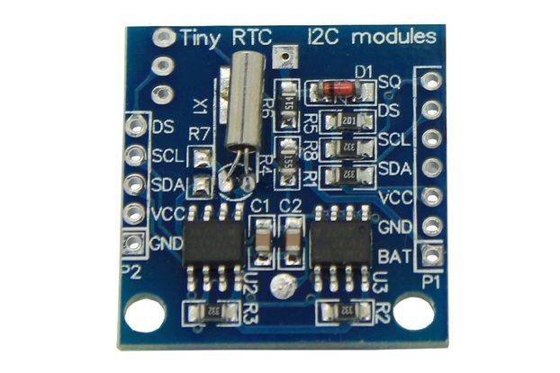 Arduino RTC clock module 24C32 storage DS1307