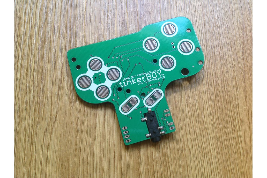 Game Boy Controller v2.1 with Pro Micro, Audio Amp 4