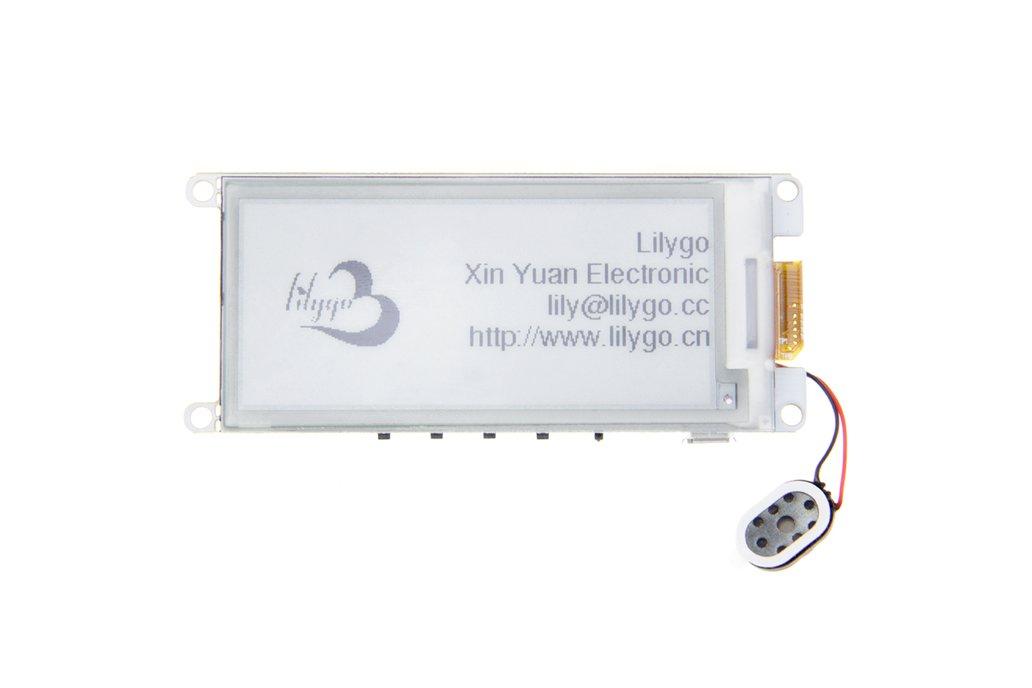 "TTGO T5 V2.2 ESP32 2.9"" EPaper Plus  E-Ink Speaker 1"