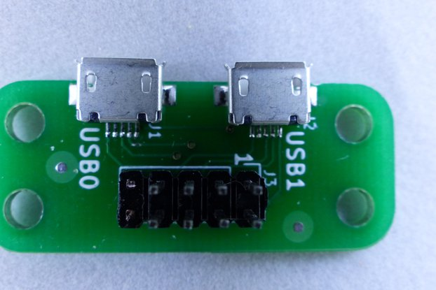 USB connectors for PC ATX case
