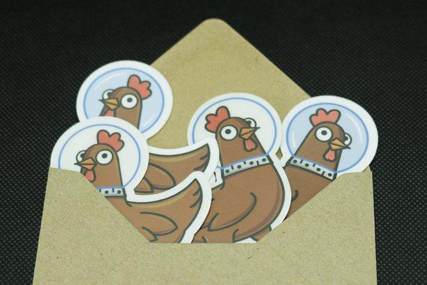 Spacehuhn Sticker Pack