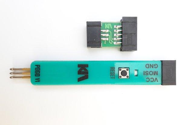 AVR ISP POGO PIN ADAPTER