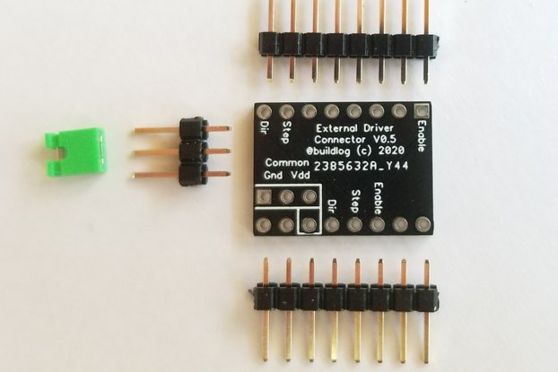 External Stepper Motor Driver Adapter