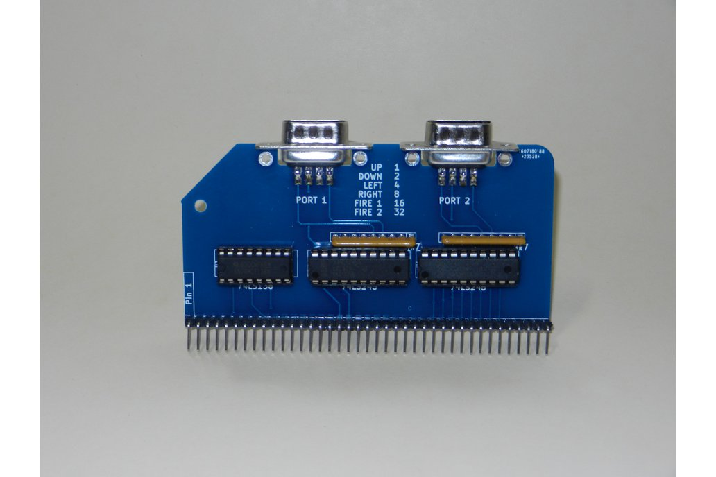 Twin Port Joystick Module For RC2014 Z80 Computer 2