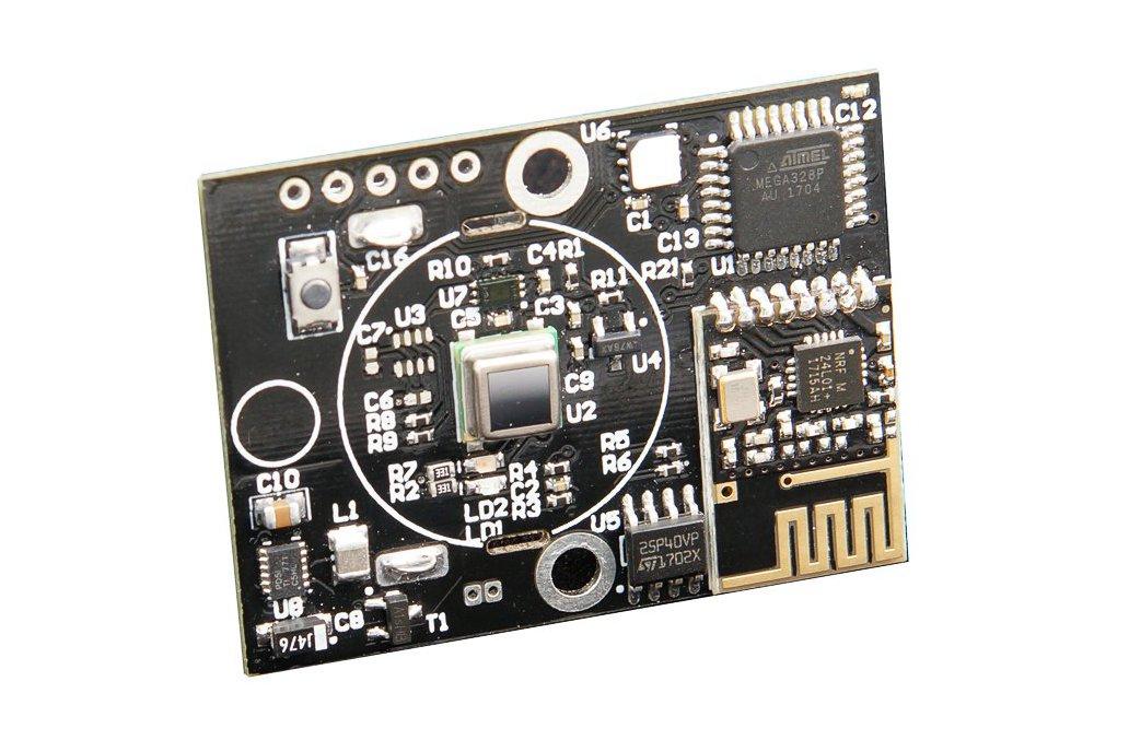 PIR sensor+TempHumidity  Arduino + RFM 69 / NRF24