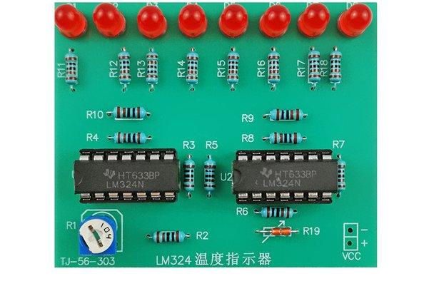 DIY Kit LM324 Temperature Indicator Sensor (13608)