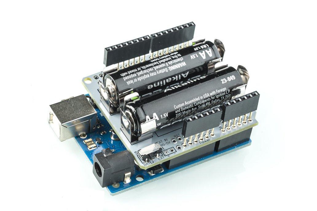 AA Arduino Power Shield 4