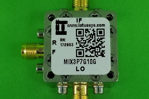 Frequency Mixer 3.7G - 10GHz RF (Passive)