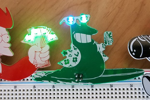SqearlSalazar Badgelife Add-on Set