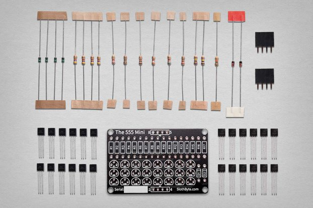 The 555 Mini - Discrete 555 Timer Kit