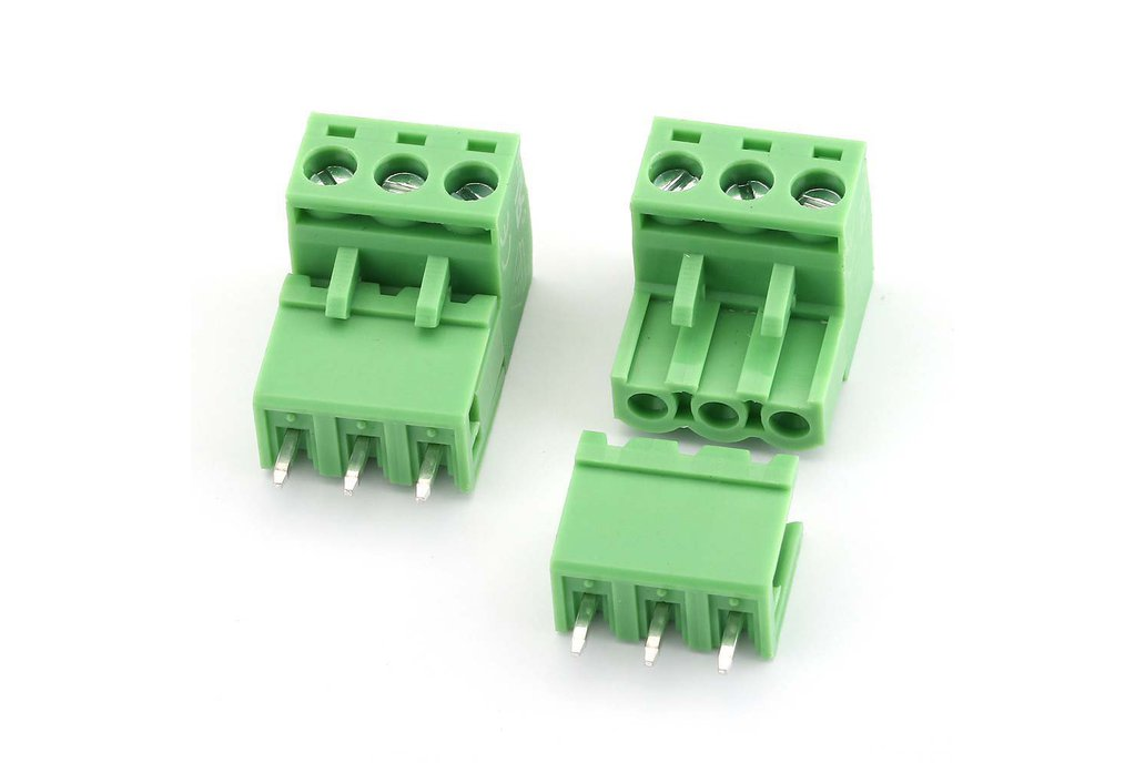 10PCS 2EDG5.08 Plug Type Terminal Connector 1