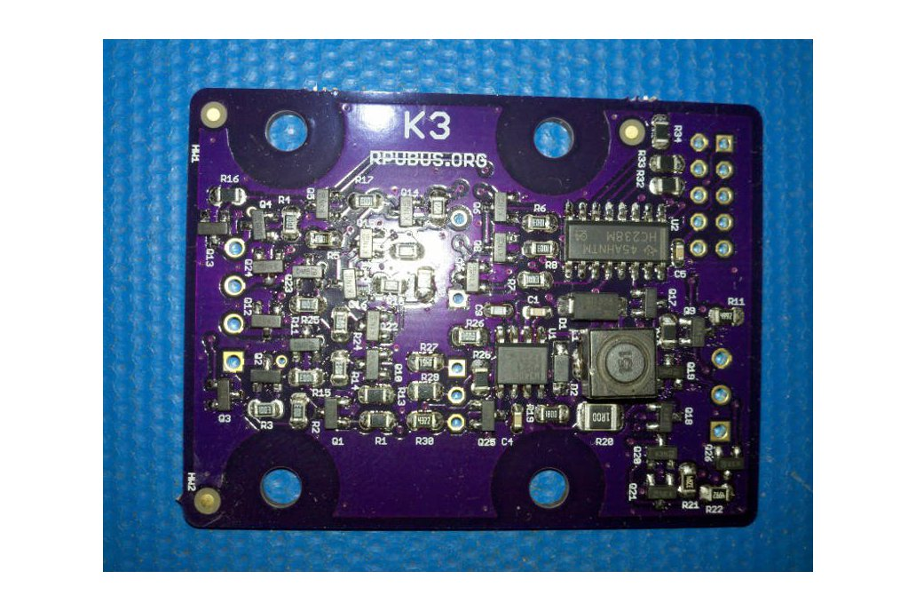 K3 - a latching solenoid driver board 1