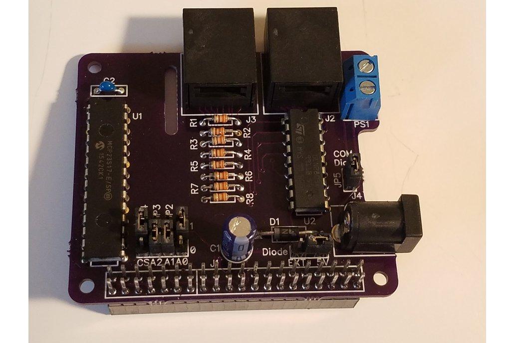 PiRyte Mini 8 In 8 Out Digital I/O Port 1
