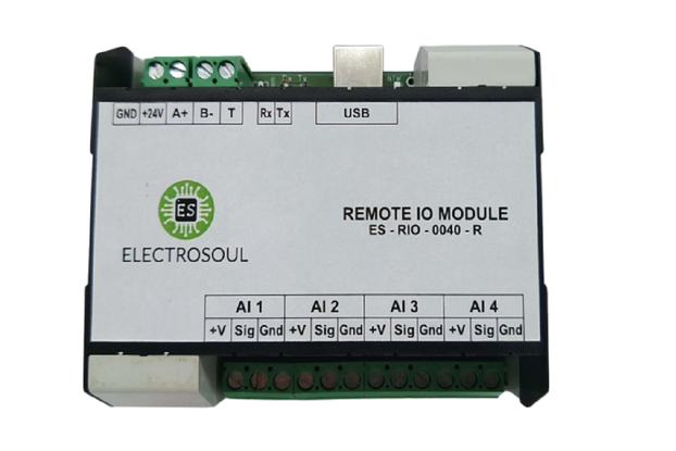 4 Channel AI Remote IO Module (RS485 / USB)