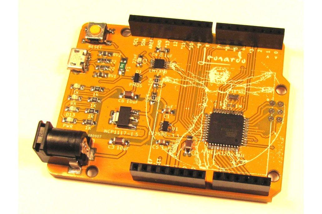 Leo Kit (Arduino-Compatible Leonardo Clone) 1