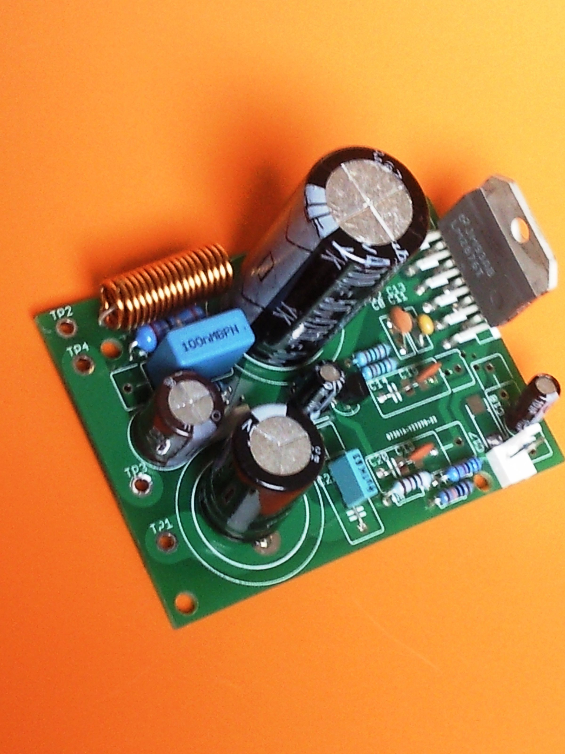 High Performance 40 Watt Audio Power Amplifier W Mute From Circuit But Have A Amplifiers This 4