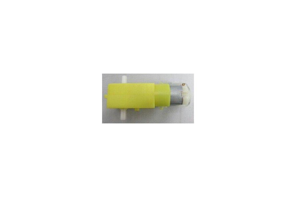 DC Gear Reduction Motor TT Motor-Biaxial (4 pcs/pack) 1