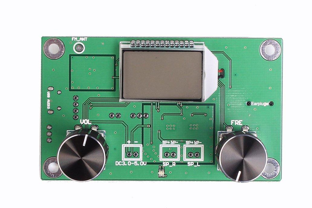 LCD Digital FM Stereo Radio Receiver Module(10545) 6