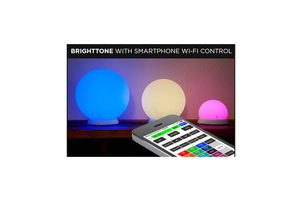 Smart Audio Processing RGB LED Lamp WiFi Control 6 1