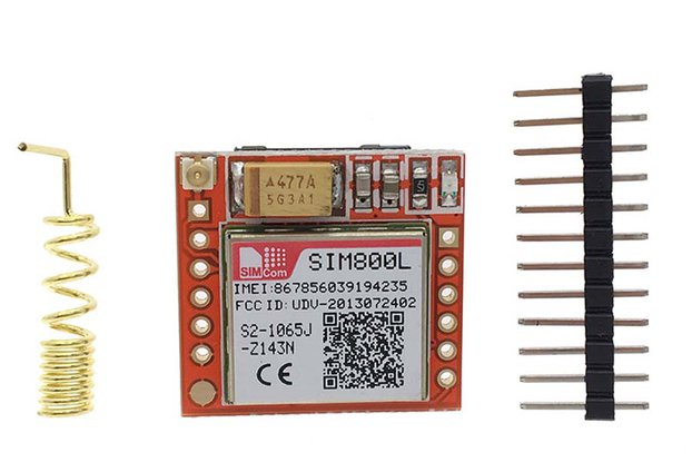 Wireless SIM800L GPRS GSM Module