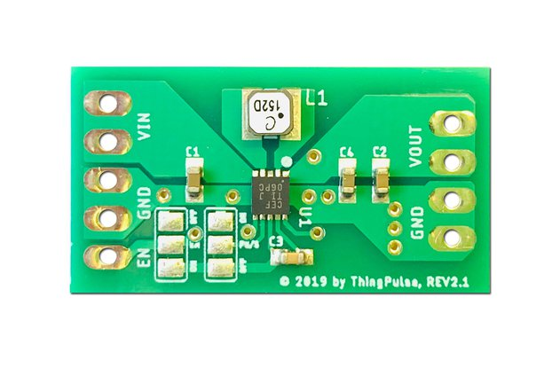 High Efficient Buck-Boost Converter for ESP32/8266