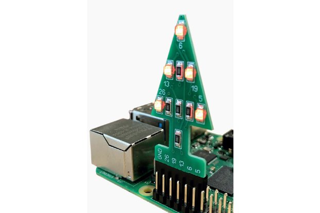 GPIO Xmas Tree for the Raspberry Pi