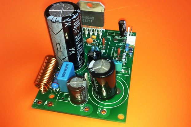 High-Performance 40 Watt Audio Power Amplifier w/Mute
