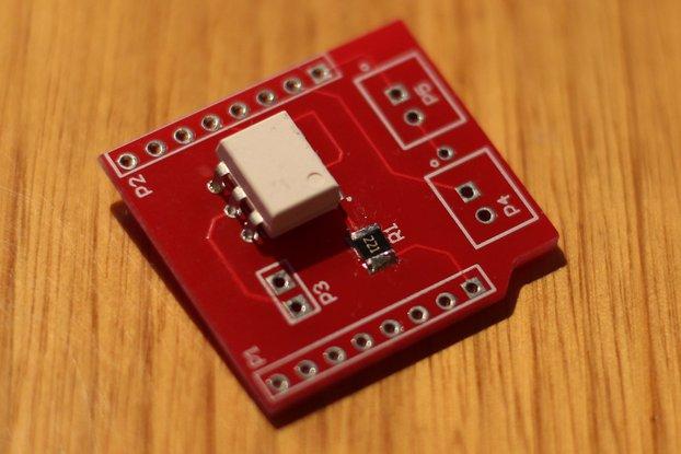 Camera shutter shield for Wemos D1 Mini ESP8266