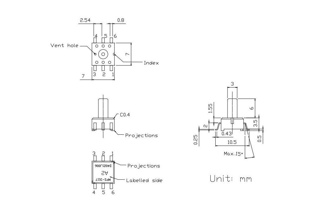 Air Pressure Sensor 5