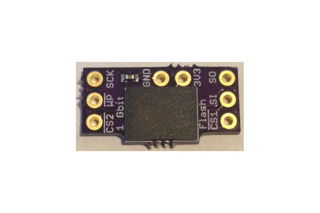 SPI Flash Memory Add-ons for Teensy 3.X 3