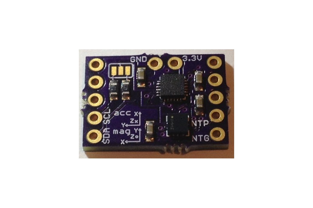 MPU9250 plus LPS25H add-on for Teensy 3 1