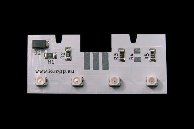 Volvo XC/V 70 back tail lamp module 30674783