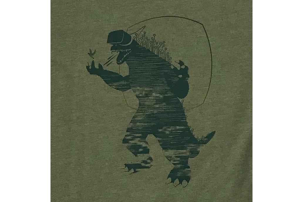 MIXED REALITY - VR Godzilla Graphic T-shirt 1