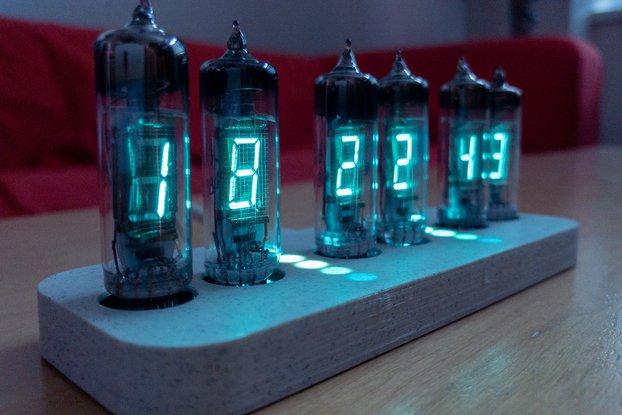 Flora - WiFi IV-6 VFD clock
