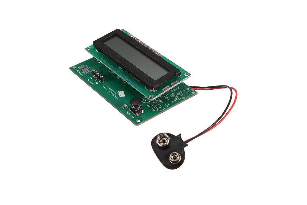 Transistor Tester Capacitor ESR Inductance Resistor Meter 2