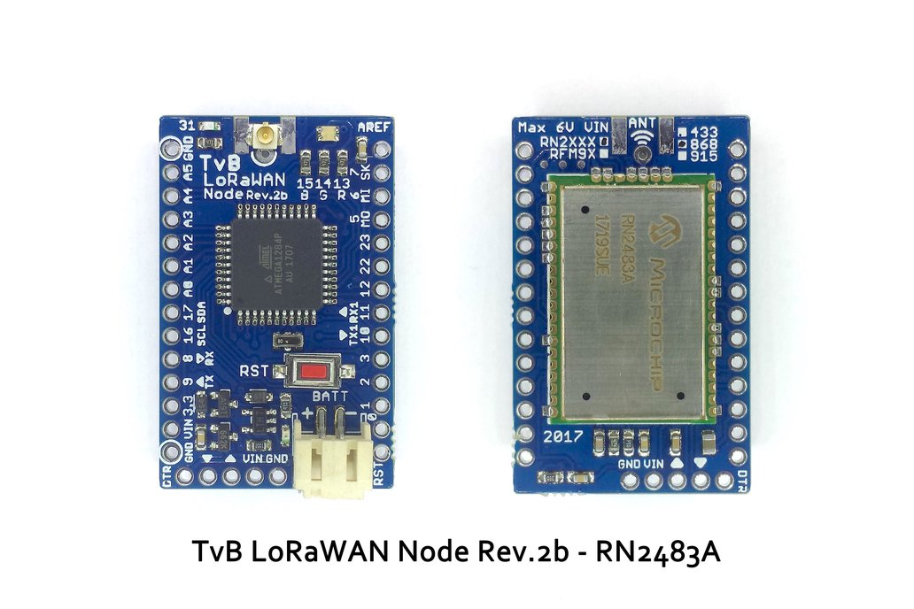TvB LoRaWAN Node Rev.2b 5