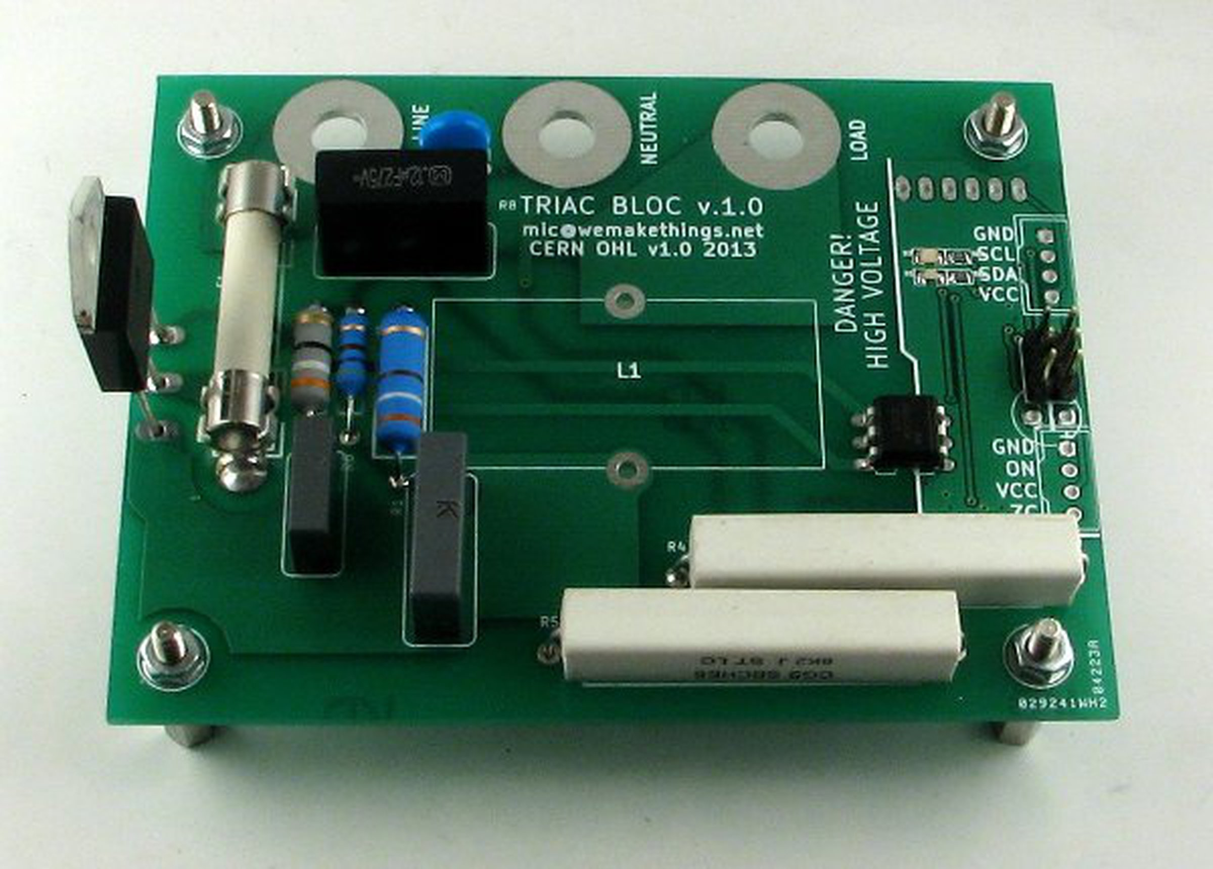 Triac Bloc I2c Mains Voltage Controller From Catnip Electronics On Wireless Tester 1