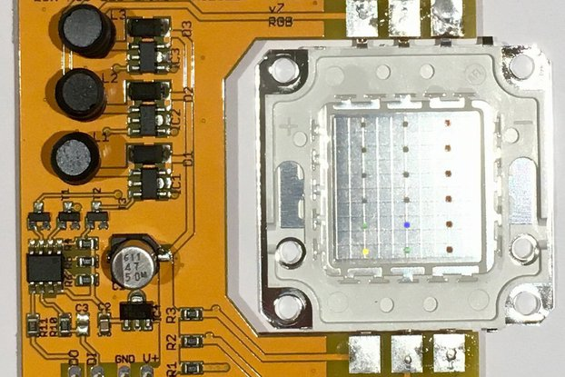 PixelFlood 20W RGB flood light (WS2811 pixel)