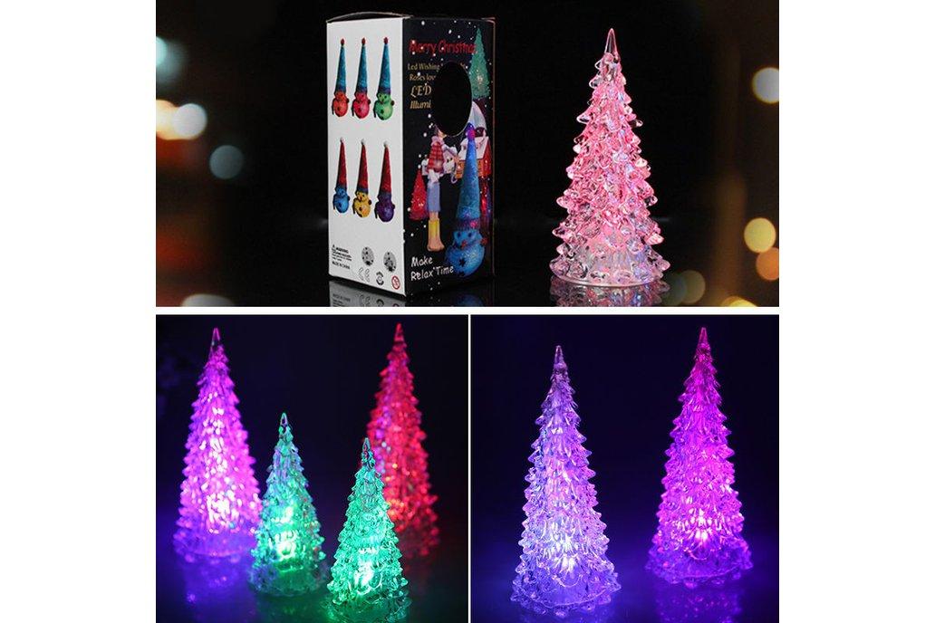 5pcs Colorful Changing Christmas Tree 6