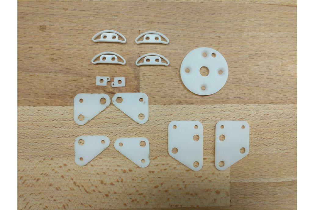 Jubilee Laser-Cut Delrin Piece Kit 1