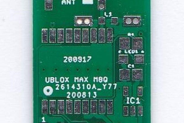 UBLOX MAX 8MQ  GPS Breakout Board