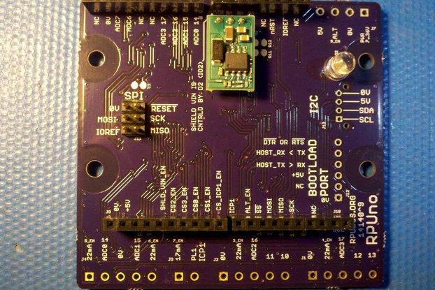 RPUno - an ATmega328p board